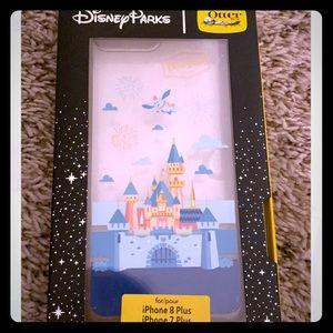 Disney Parks Castle otterbox iPhone 8 plus case